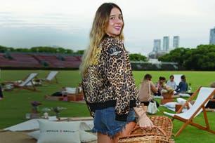 Después de las vacaciones en el Caribe con su novio, Lucía Celasco se reencontró con amigas