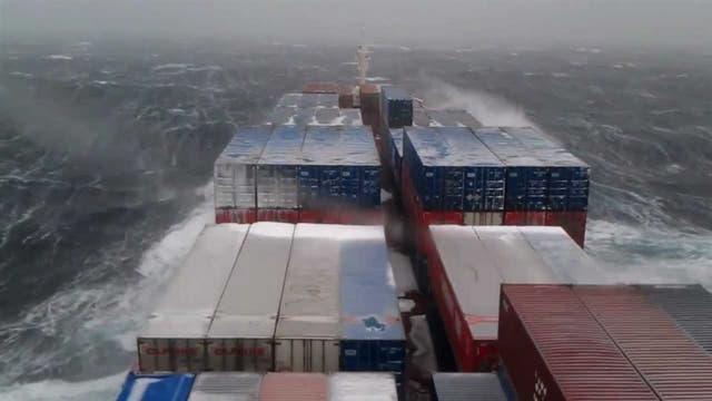 Inclemencias climáticas durante el transporte pueden dañar las mercaderías