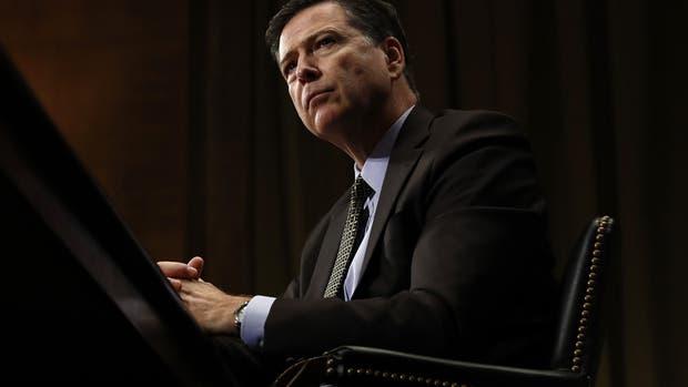 James B. Comey fue despedido ayer como director del FBI por el presidente norteamericano, Donald Trump