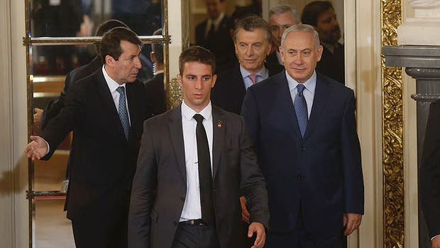 Netanyahu inició ayer una visita histórica a la Argentina: es la primera vez que un jefe de gobierno de Israel viene al país