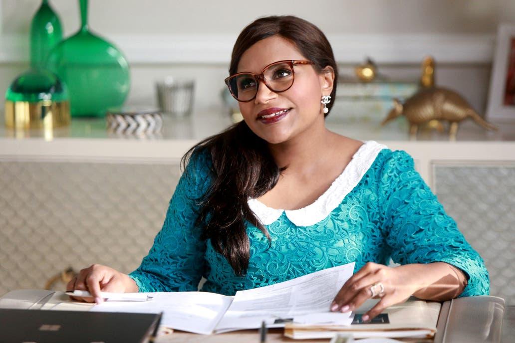 Mindy Kaling, creadora y protagonista de The Mindy Project, una de las series que retoma y moderniza la comedia romántica en la pantalla chica
