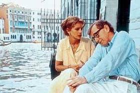 """Julia Roberts y Woody Allen, protagonistas del film """"Todo el mundo dice te amo"""""""