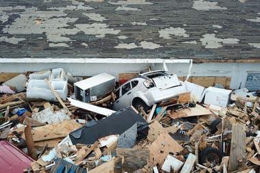 Los daños del huracán Dorian