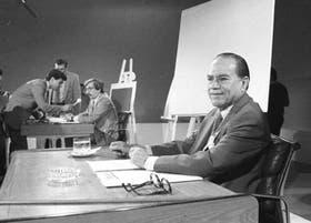 Caputo y Saadi, el 15 de noviembre de 1984