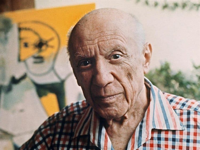 Picasso solía regalar dibujos, pero, astutamente, no siempre los firmaba Foto:AFP