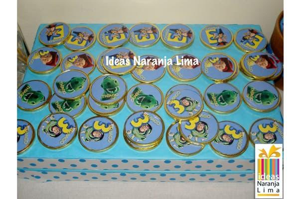 Kit básico para 30 chicos, a partir de $350.. Foto: Foto: Gentileza ideas Naranja Lima