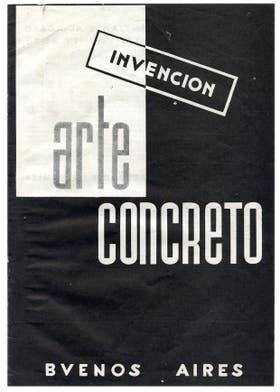 Arte concreto, invención 1946