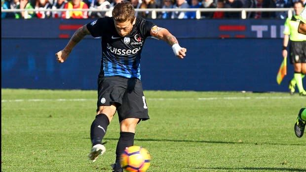 Alejandro Papu Gomez, marcó para Atalanta