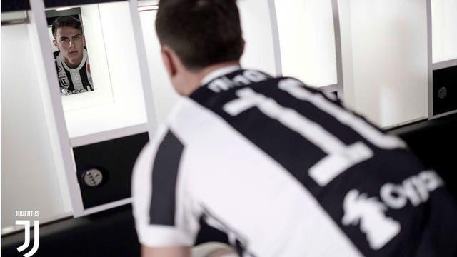 Paulo Dybala usara la 10 de Juventus. Foto: http://www.juventus.com/