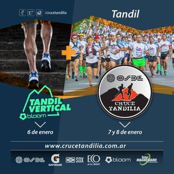 Osde Cruce Tandilia y Tandil Vertical, el 6, 7 y 8 de enero. Foto: LA NACION