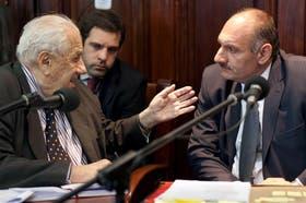 Ayer, los fiscales López Rougés y Sale