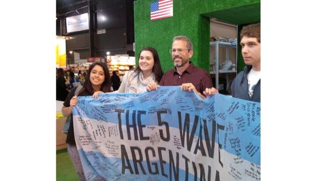 Rick Yancey en la Argentina