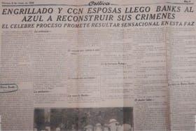 La cobertura del diario Crítica el 7 de julio de 1924, día que comenzó el juicio
