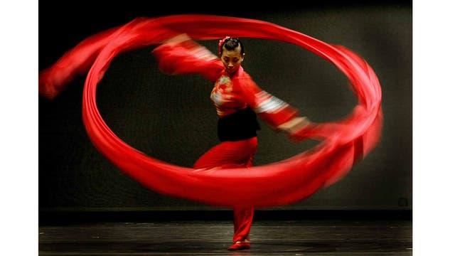Bailarines de Dance China NY en el New York City Center