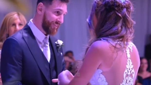 Leo Messi y el momento más emotivo de la noche