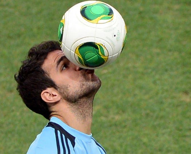 Y sí, otro futbolista que volvió fascinado con Mundo Marino.... Foto: Fotos de EFE, AP, AFP y Reuters