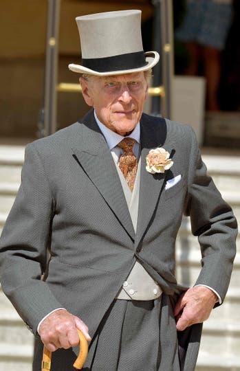 Felipe, el duque de Edimburgo de 95 años posa para una fotografía el 10 de junio de 2014. Foto: AFP