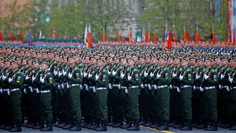 Putin desplegó todo el poderío de sus fuerzas armadas y celebró, como todos los 9 de mayo, el Día de la Victoria en la Plaza de Roja. Foto: Reuters / Maxim Shemetov