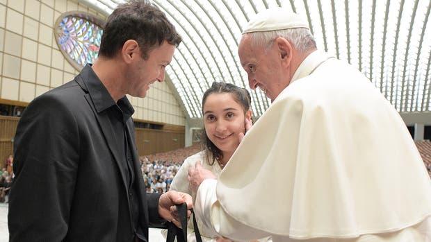 La emotiva audiencia del papa Francisco y Brenda, la chica argentina con una enfermedad rara e incurable