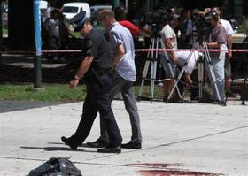 Retiro. El 8 de febrero pasado fue asesinado en la plaza San Martín el fotógrafo Laurent Schwebel. Un delincuente lo mató con una faca.