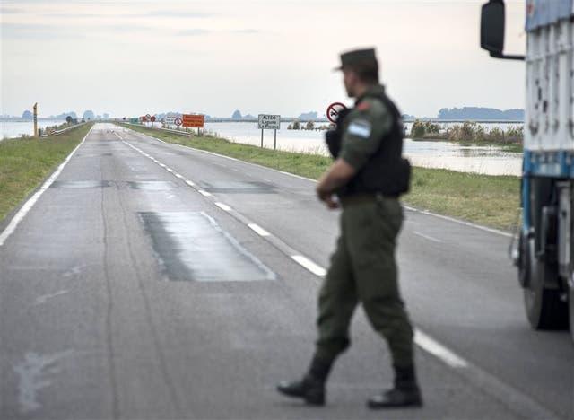 El cierre parcial de la ruta obliga a administrar el tránsito