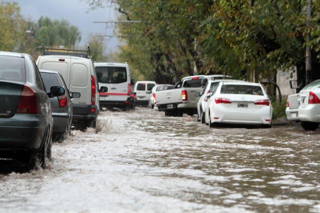 Es la tercera vez en el mes que un temporal deja a la provincia colapsada