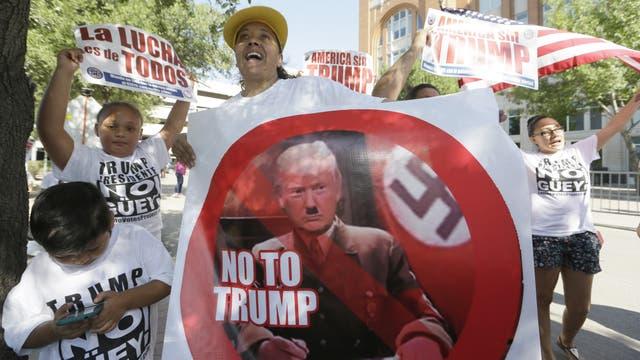 """""""No GÜEY""""Los inmigrantes, especialmente los de origen mexicano, se convirtieron en los grandes enemigos del discurso xenófobo de Donald Trump"""