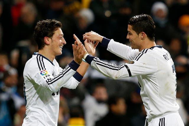 Cristiano lideró al triunfo del Real en el derby