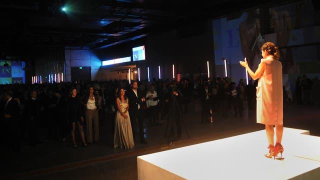 María Freytes durante la presentación de LN+. Foto: LA NACION