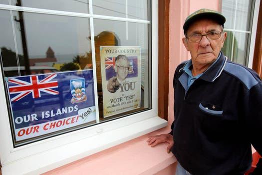 El referéndum se realizará hoy y mañana en las islas Malvinas. Foto: AFP