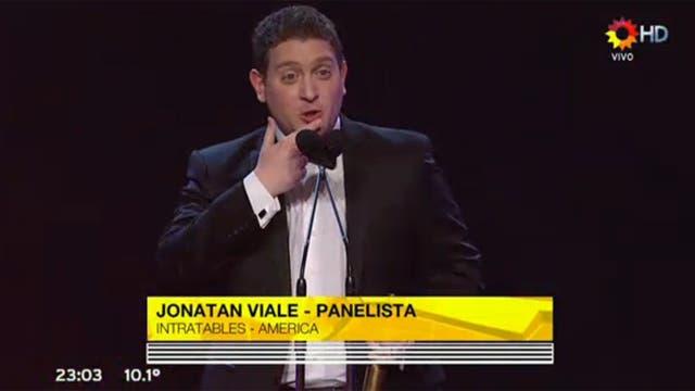 Jonatan Viale, mejor panelista del 2015