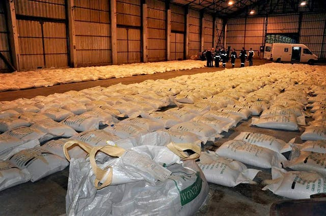 La ruta del tráfico de cocaína hacia Europa transita por vía terrestre, fluvial y aérea, y afecta a todos los países, pero sobre todo a la Argentina, el Brasil y Venezuela