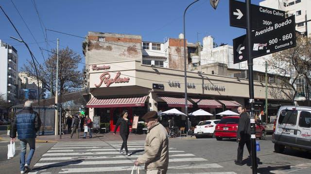 Una de las tradicionales esquina de Boedo, un barrio con mucho potencial