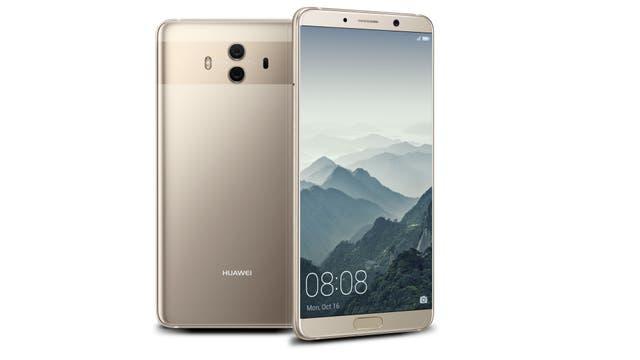 El Huawei Mate 10 tiene el sensor de huellas digitales adelante; el Mate 10 Pro, atrás