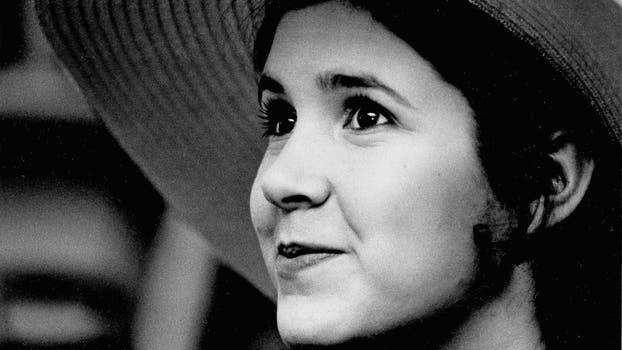 1973, Carrie Fisher de 16 años en Nueva York. Foto: AP / Jerry Mosey