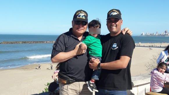 Cinco tripulantes del submarino extraviado son árbitros de futbol