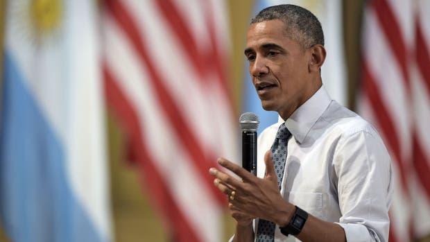 Barack Obama en la Usina del arte