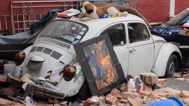 Un nuevo sismo de 5,8 grados golpea a un México que intenta levantarse de los escombros