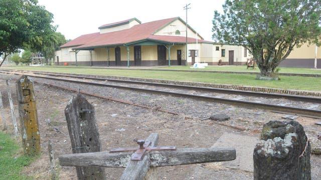La antigua estación de tren de Villa Clara