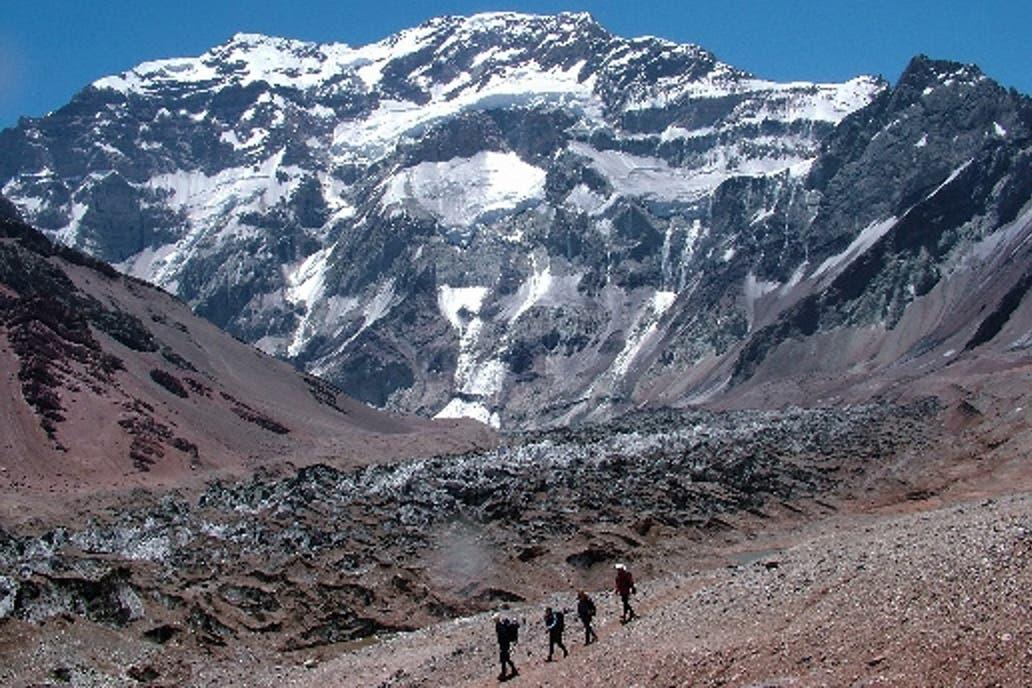 Murió un andinista canadiense luego de hacer cumbre en el Aconcagua