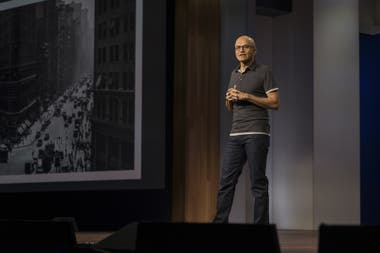 Nadella made the cloud service a priority, and the company is now the second largest provider, after the Amazon