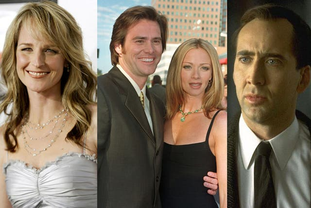 Helen Hunt, Jimey Carrey y Lauren Holly y nicolás Cage