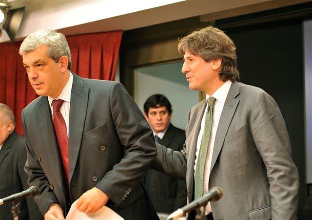 Julián Domínguez y Amado Boudou definieron pautas clave en las cuentas del Congreso