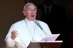 El Papa llamó a tener a Cristo presente constantemente