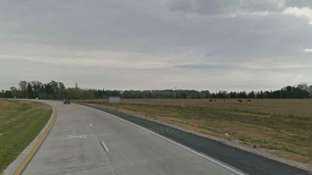 La ruta 6 donde fue encontrado el joven de 16 años