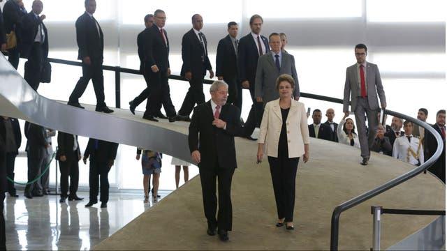 Fue una semana muy intensa para Lula y Dilma, en medio de denuncias por corrupción