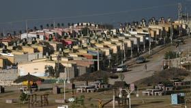 El Comedero, en Jujuy, uno de los barrios construidos por la organización social Tupac Amaru