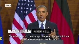 Barack Obama anunció el envío de más tropas a Siria para frenar el avance de EI