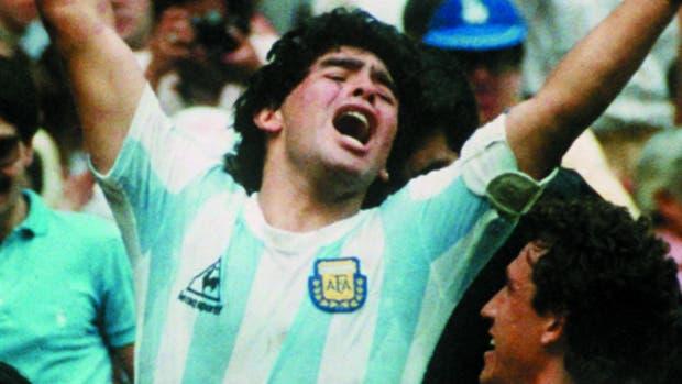 Un gran zurdo argentino: Diego Maradona