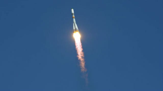El cohete Soyuz fue el encargado de llevar la Progress hasta la órbita terrestre